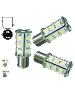 Lampadina a 18 led bay 15d